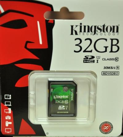 Karta pamięci MicroSD Kingston 32GB